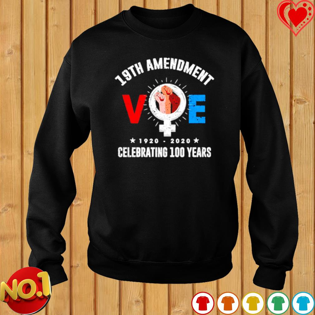 19th Amendment VOE T-Shirt Women Right to Vote s sweater