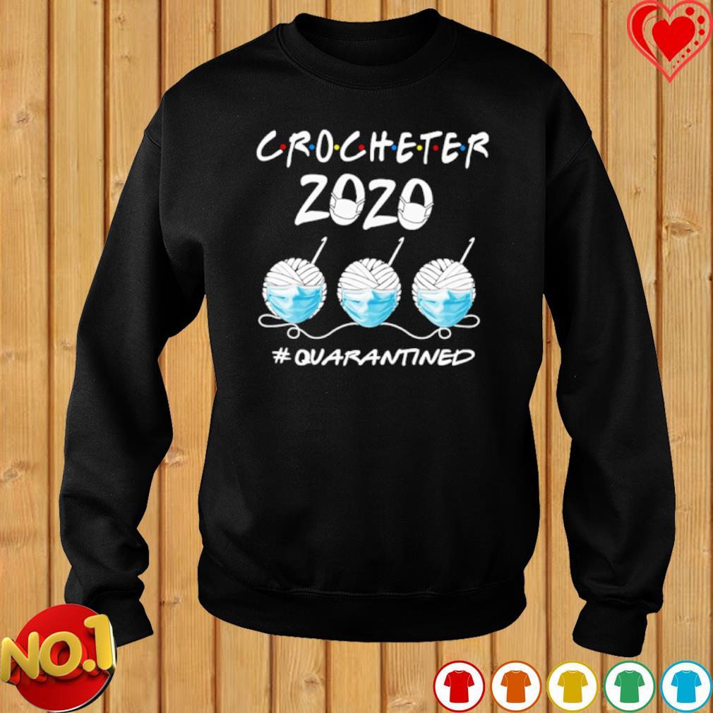 Crocheter 2020 quarantined Covid-19 s sweater