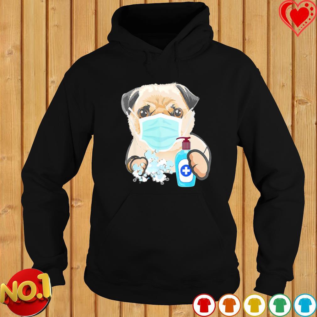 Pug wash hand s hoodie