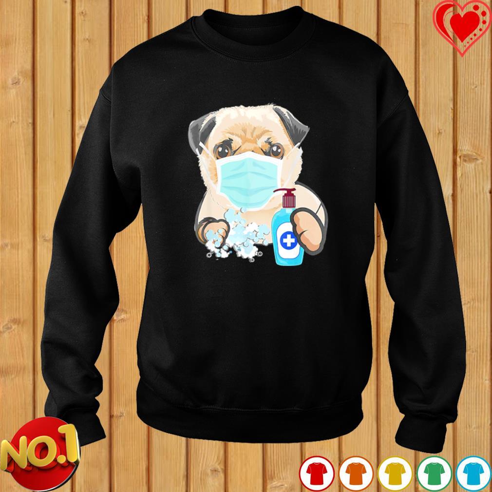 Pug wash hand s sweater