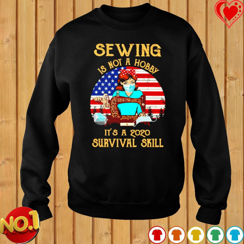 Sewing is not a hobby it's a 2020 survival skill vintage s sweater