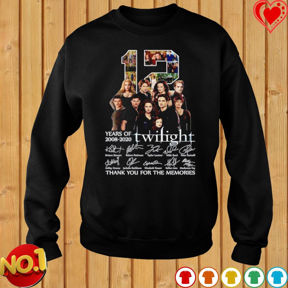 12 years of Twilight 2008 2020 thank you for the memories s sweater