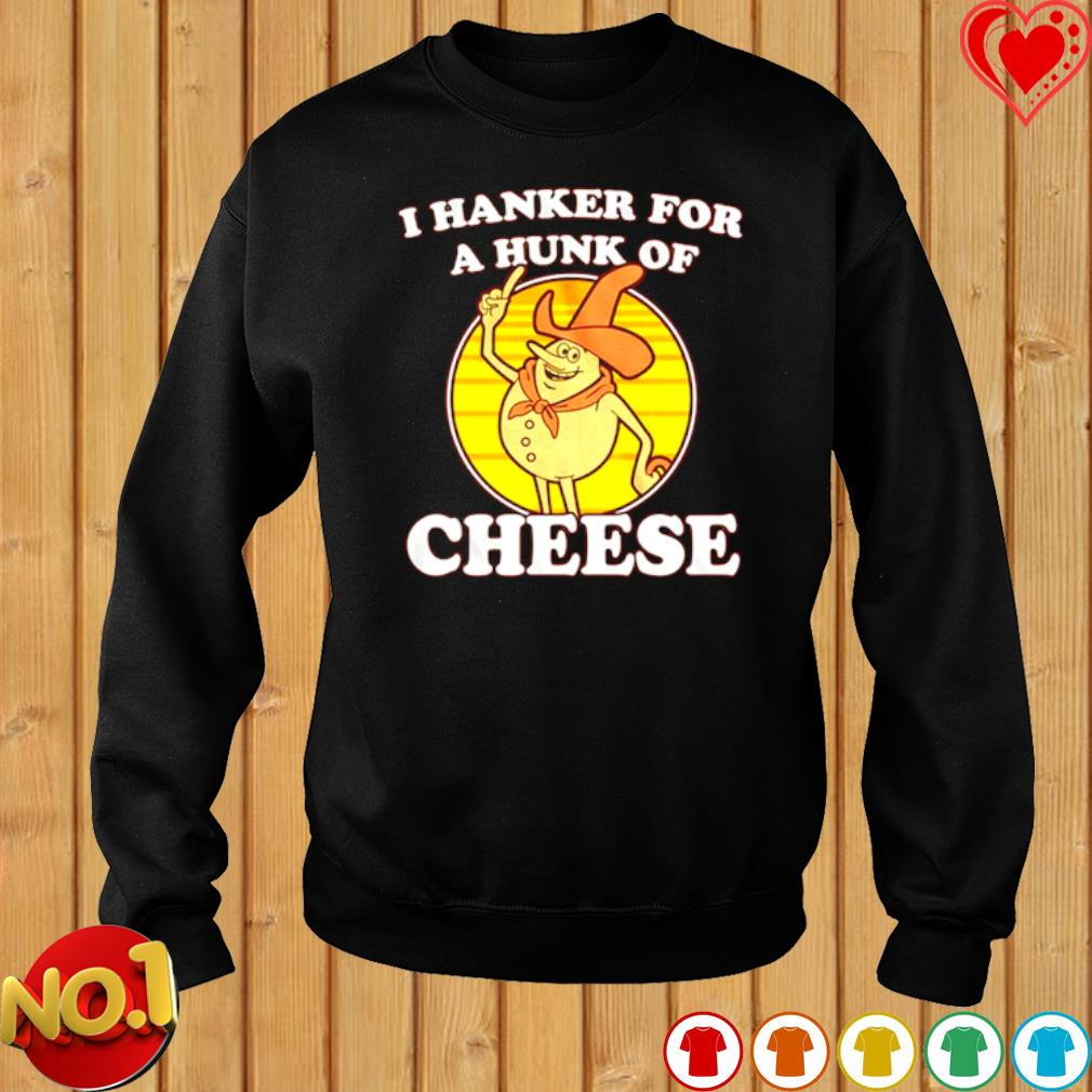 I hanker for a hunk of cheese s sweater