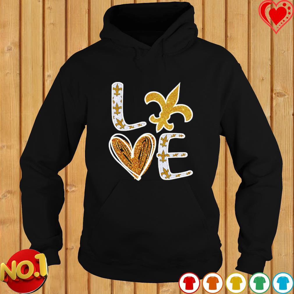 Love New Orleans Saints s hoodie