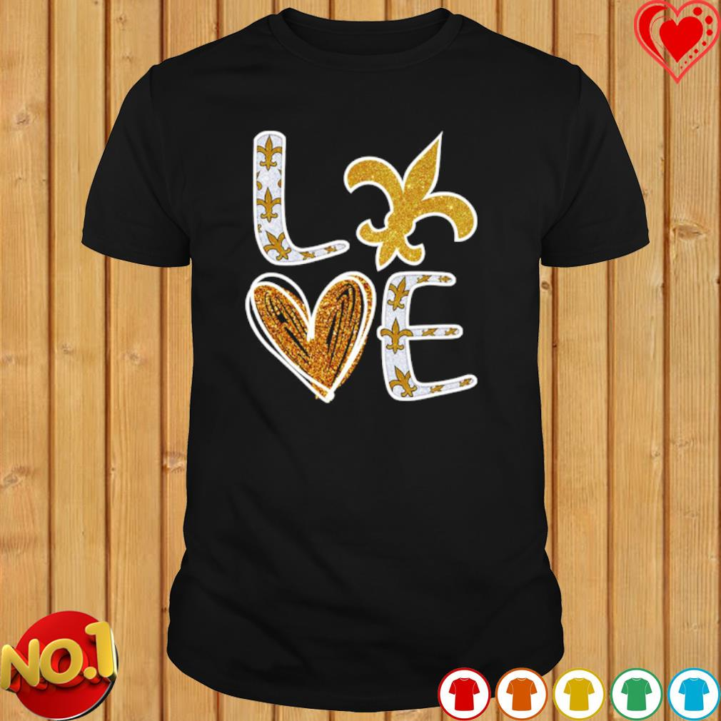 Love New Orleans Saints shirt