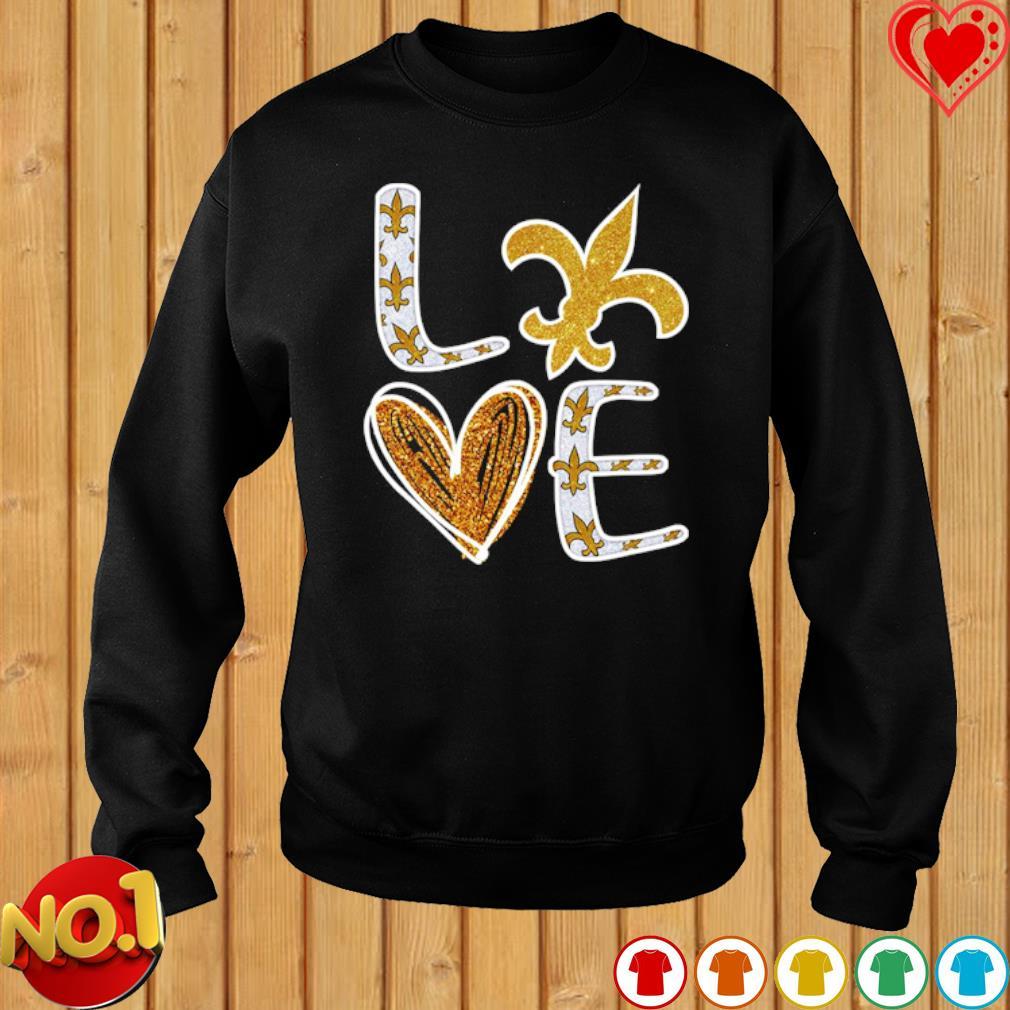 Love New Orleans Saints s sweater