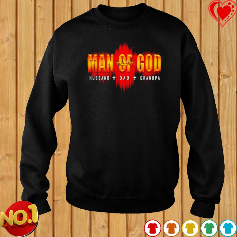 Man of God Husband Dad Grandpa s sweater