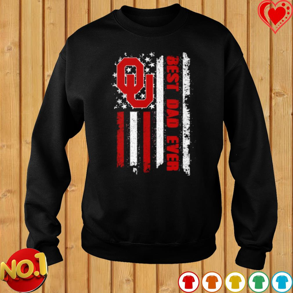 Oklahoma Sooners American best Dad ever s sweater