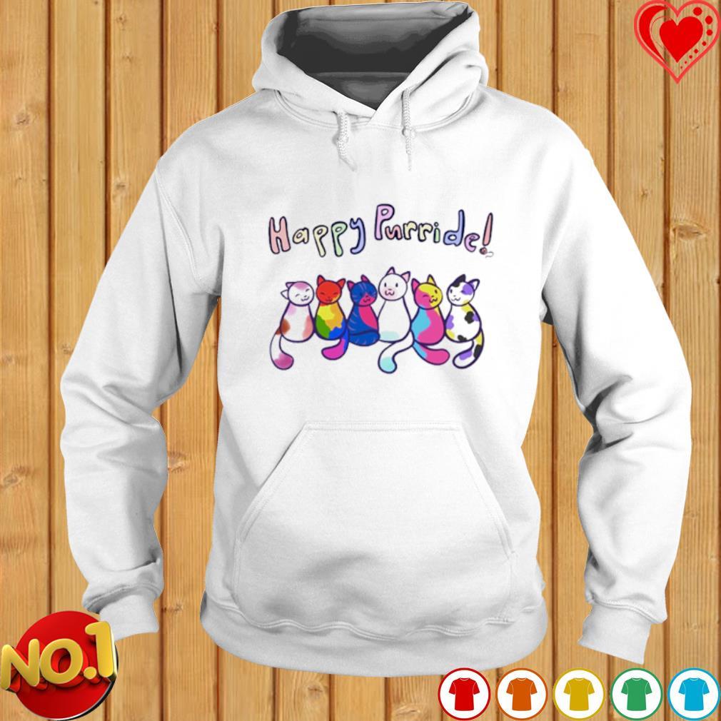 Cats Happy Purride s hoodie