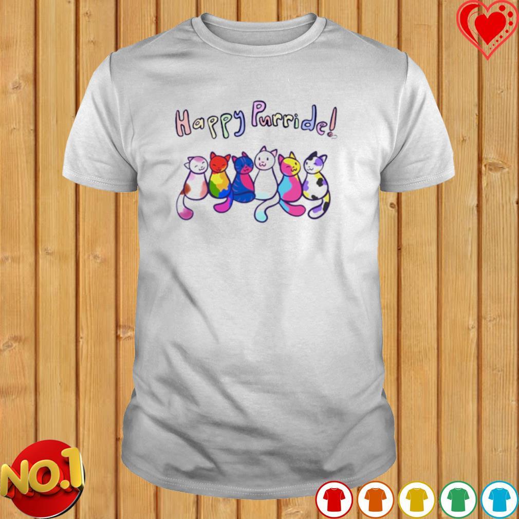 Cats Happy Purride shirt