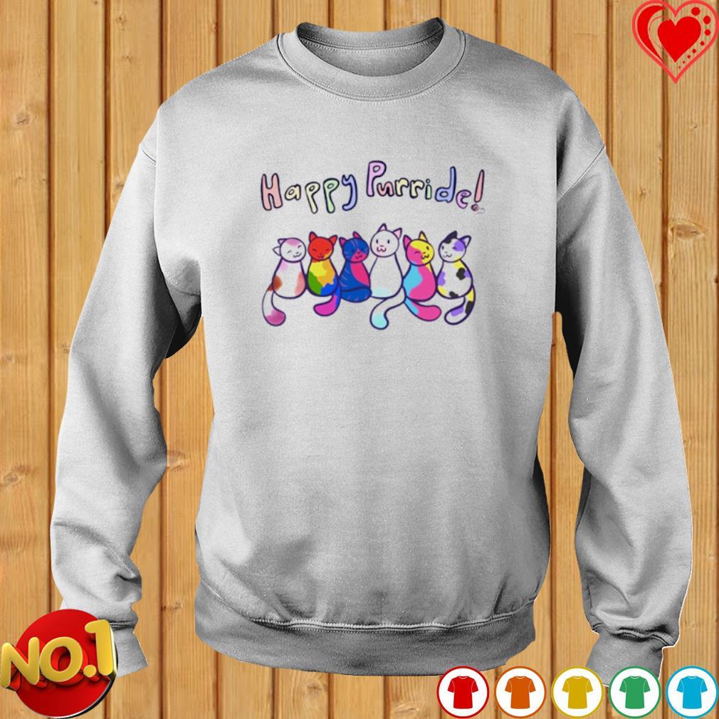 Cats Happy Purride s sweater