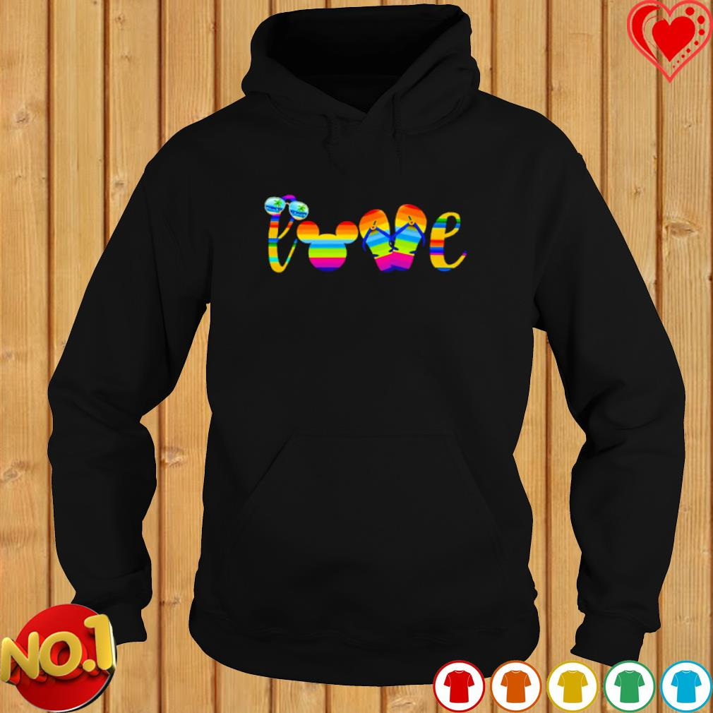 Love mouse ears summer vibes s hoodie