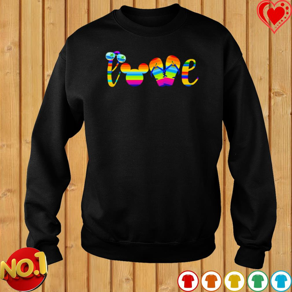 Love mouse ears summer vibes s sweater