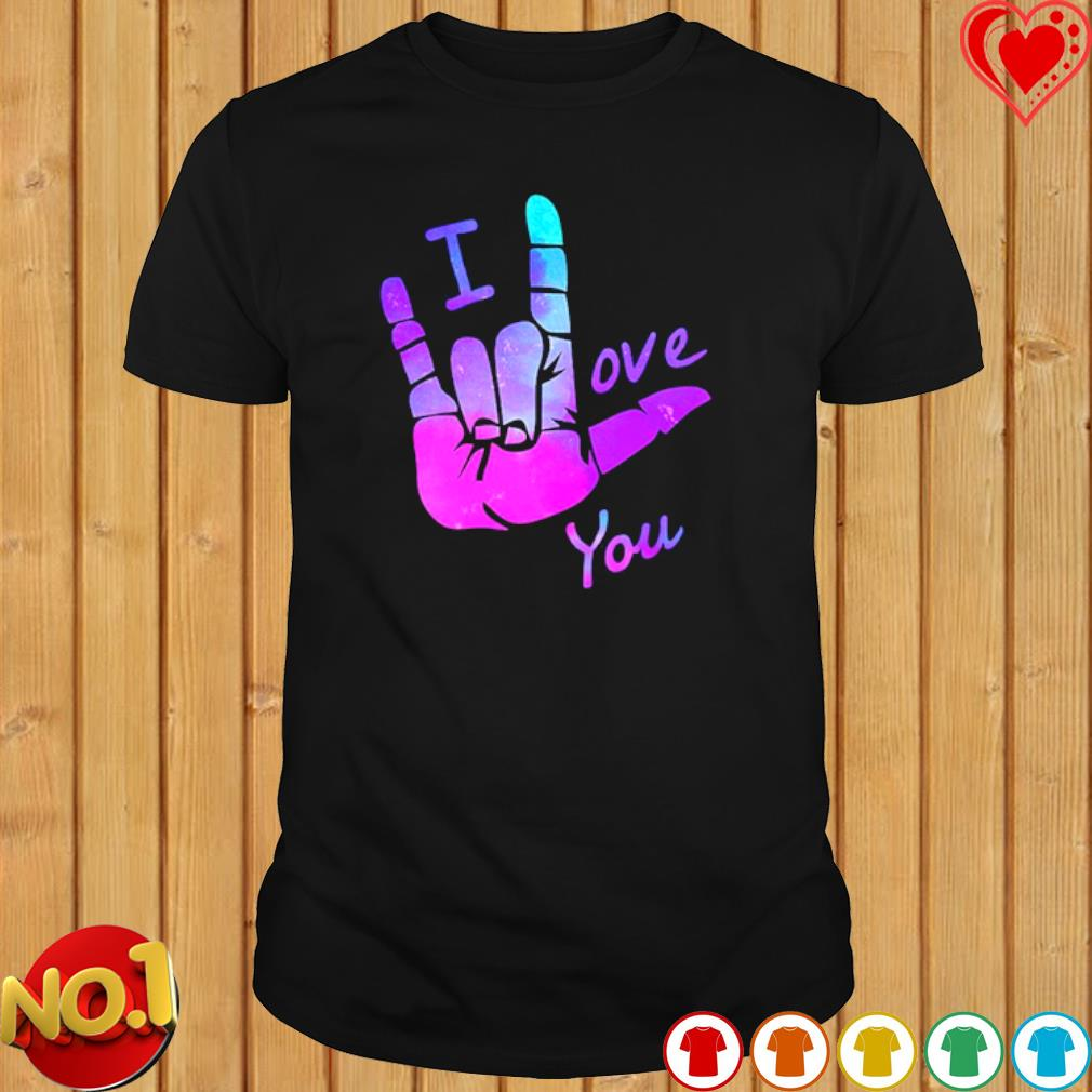 I Love You Sign Language Unisex 100/% Cotton Childrens 3//4 Sleeves T-Shirt Top Tees 2T~5//6T