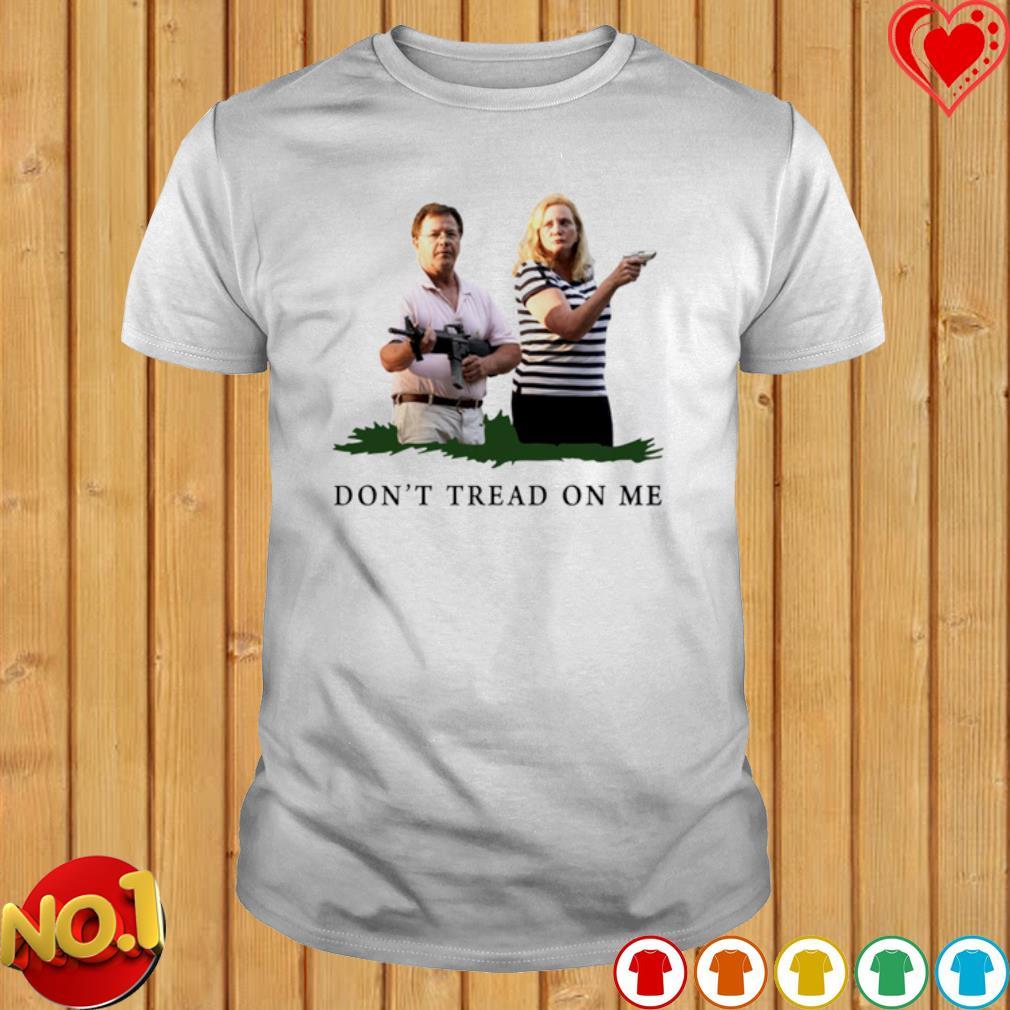 ST Louis couple don't tread on me shirt