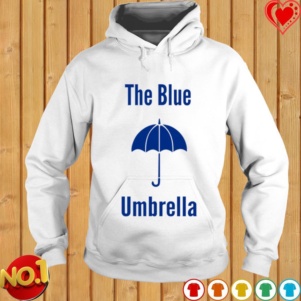 The blue umbrella s hoodie