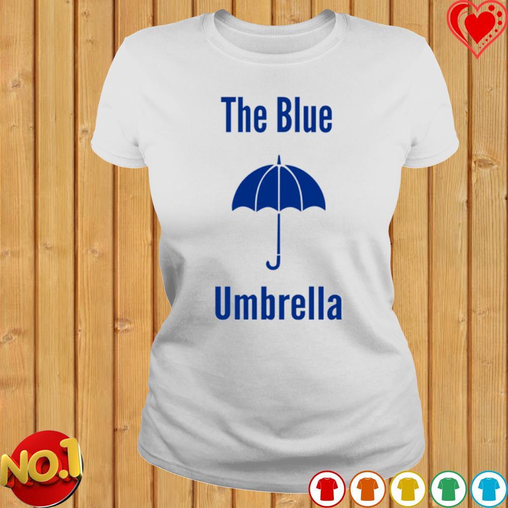 The blue umbrella s ladies-tee