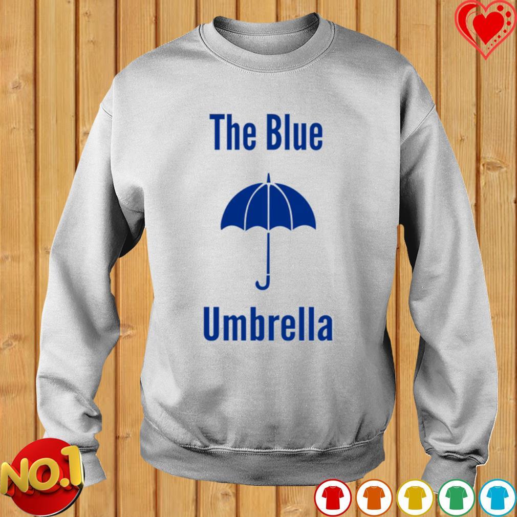 The blue umbrella s sweater