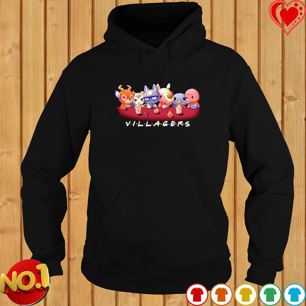 Villagers Friends TV Show s hoodie