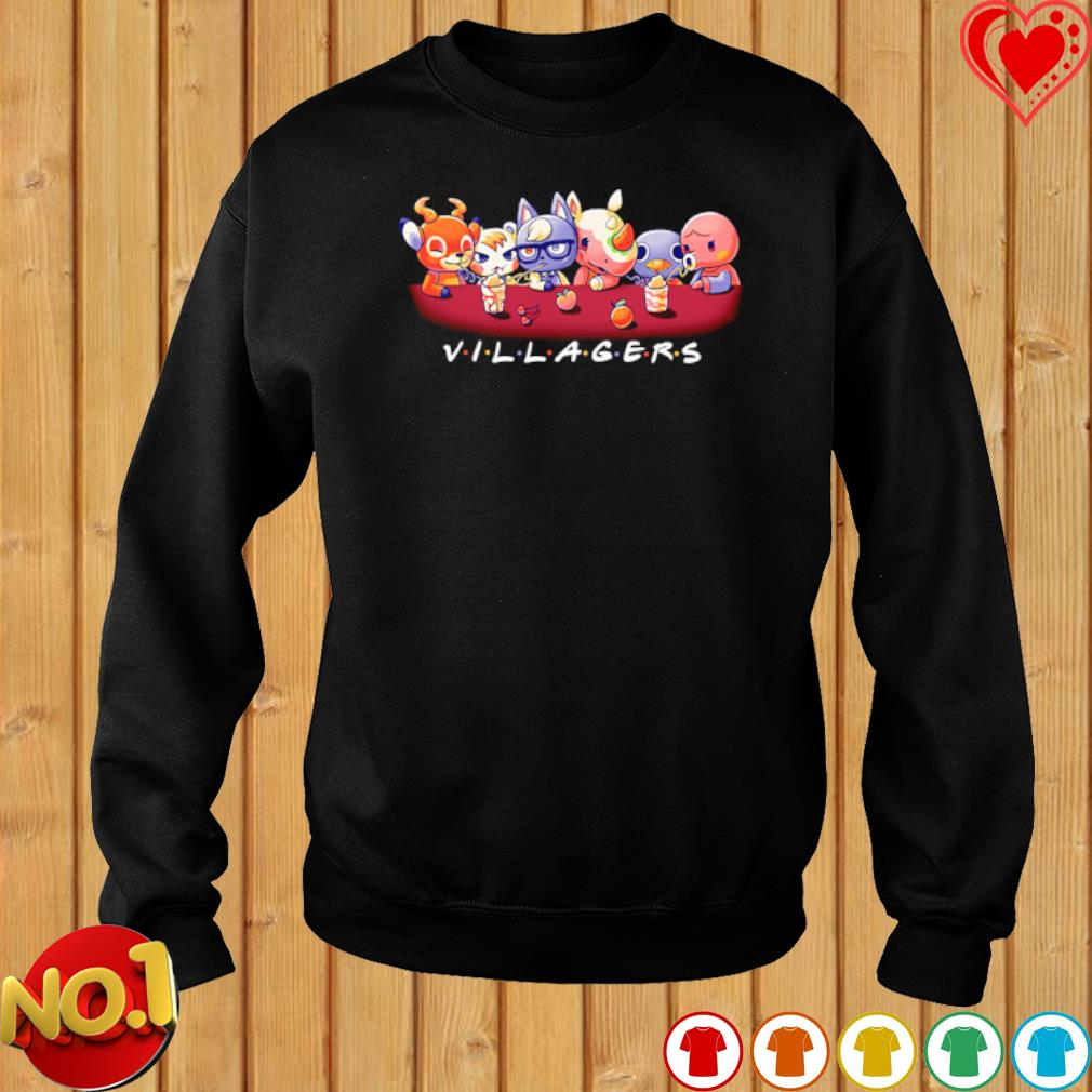 Villagers Friends TV Show s sweater