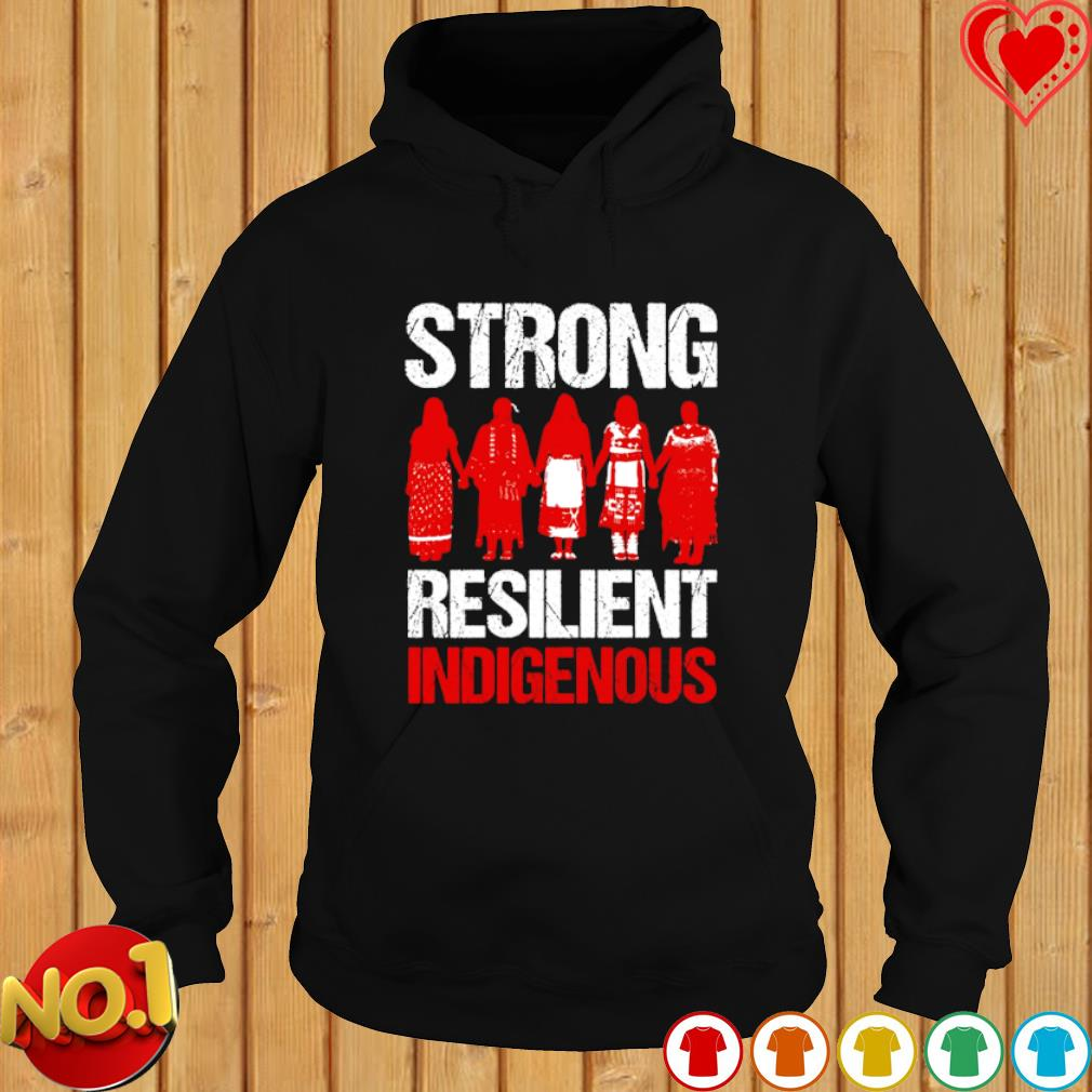 American Indian strong resilient indigenous s hoodie