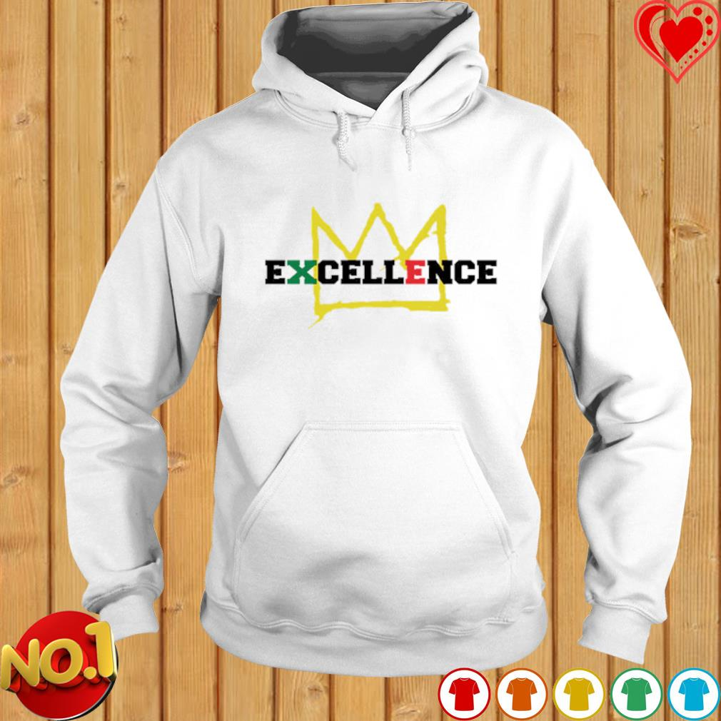 Black Excellence king s hoodie
