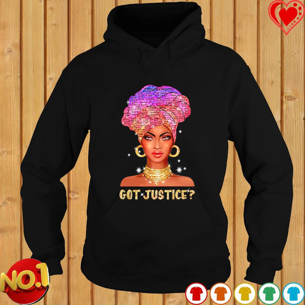 Black girl say her name got justice s hoodie
