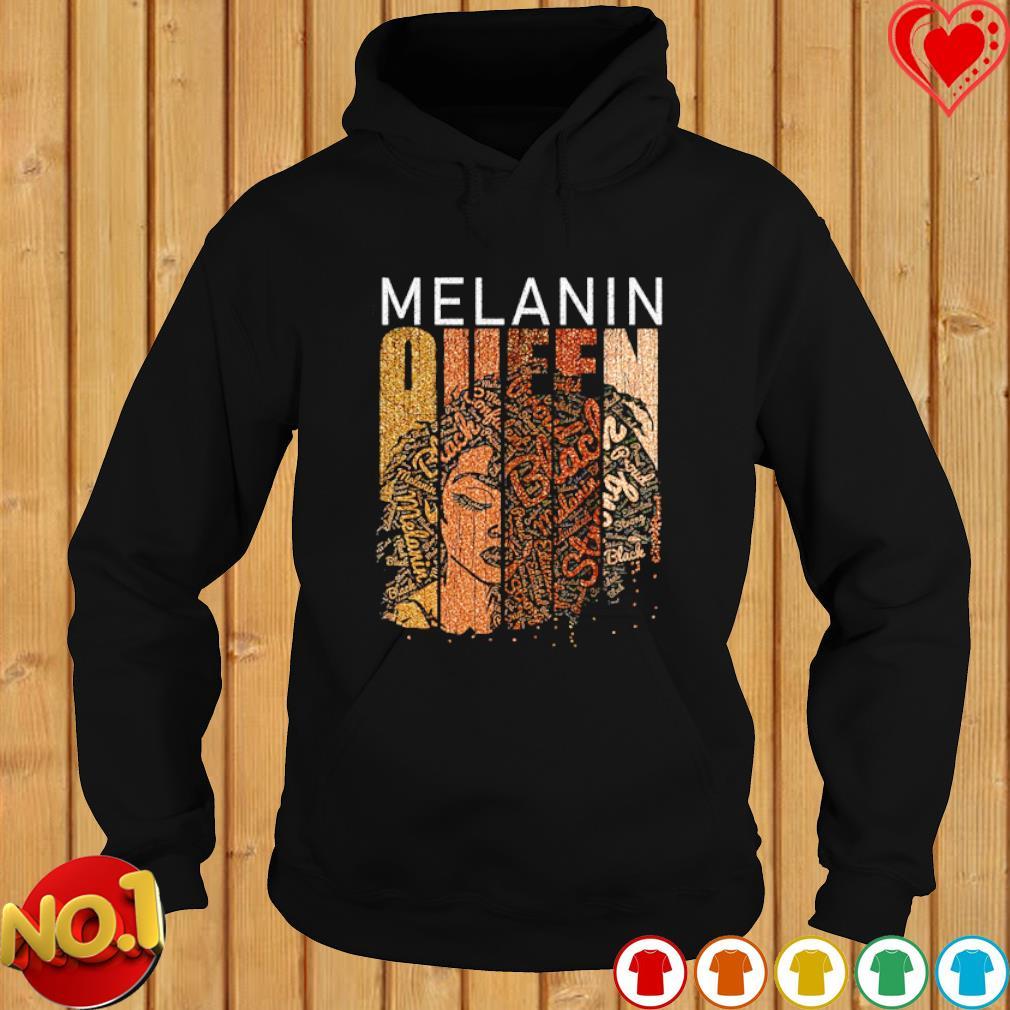 Brown Sugar Melanin queen s hoodie