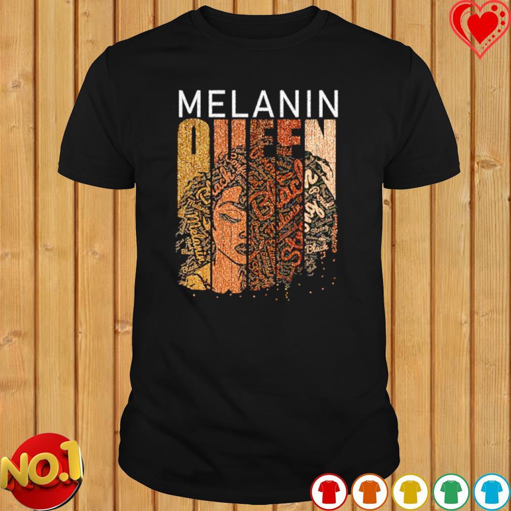Brown Sugar Melanin queen shirt