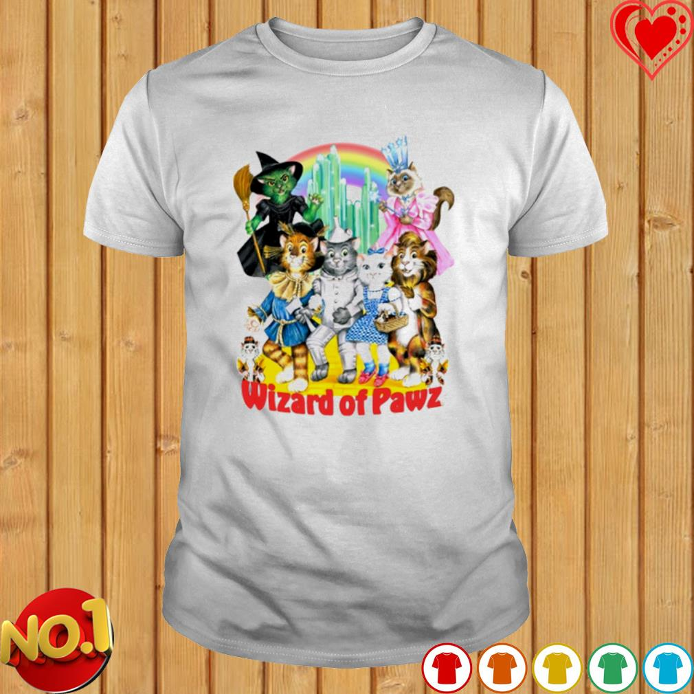 Cat The Wizard of Oz The Wizard of Pawz shirt