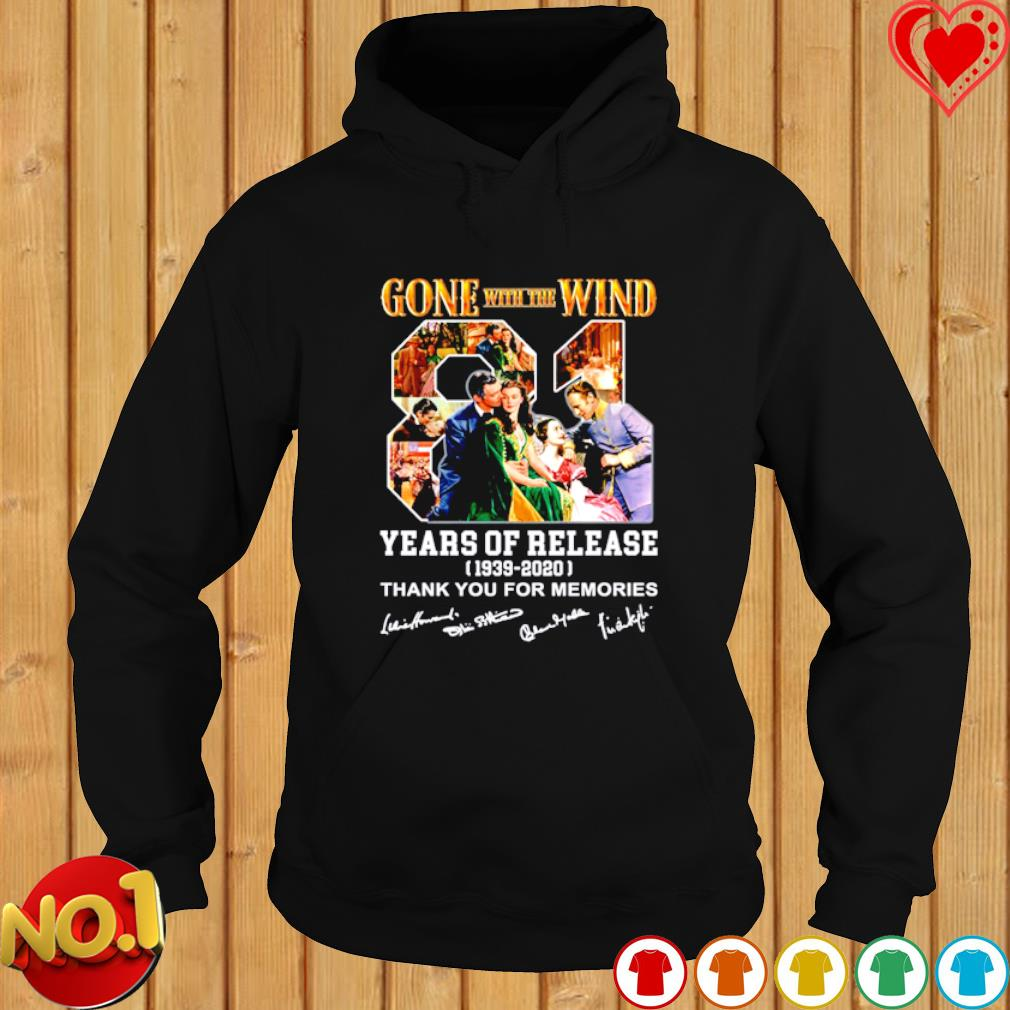 Gone with the Wind 81 years of release s hoodie