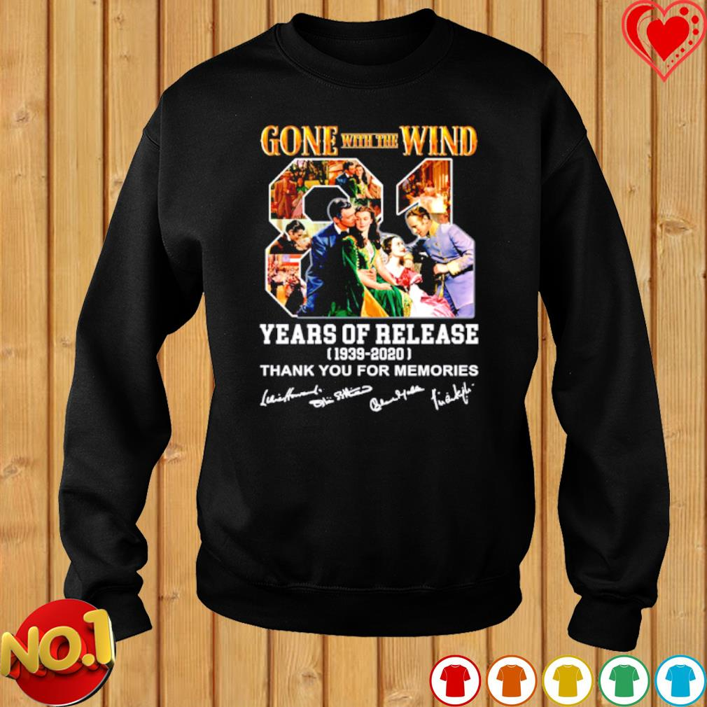 Gone with the Wind 81 years of release s sweater