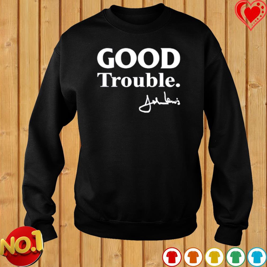 Good trouble John Lewis signature s sweater