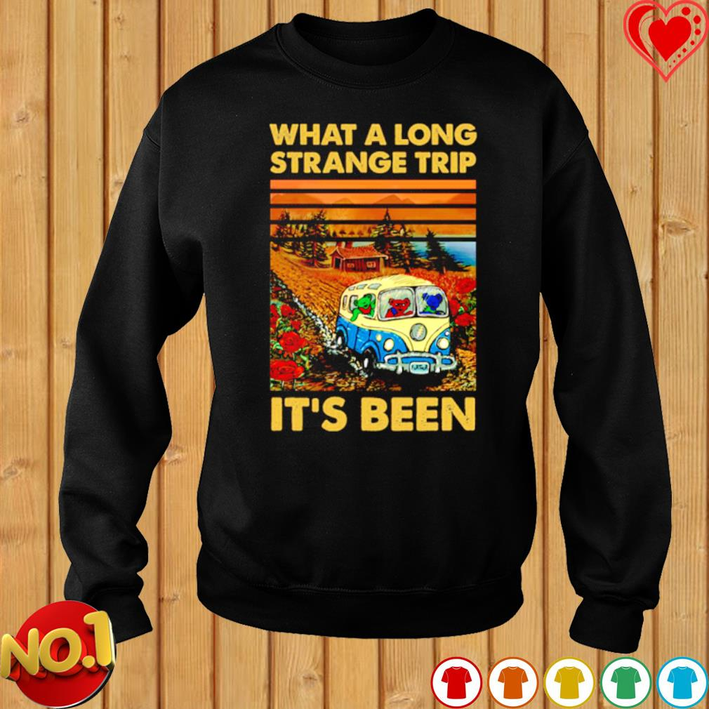 Grateful Dead bears What a long strange trip it's been s sweater