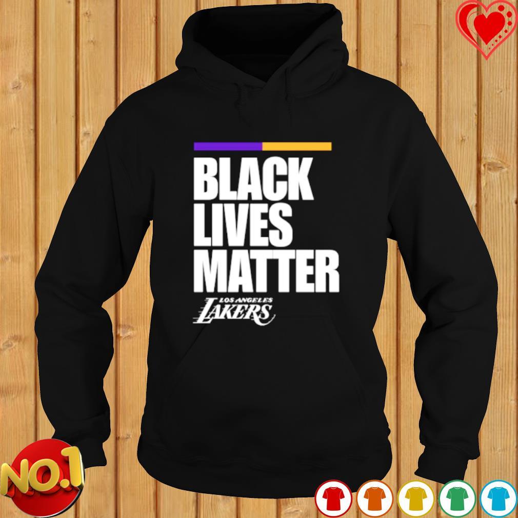 Los Angeles Lakers black lives matter s hoodie