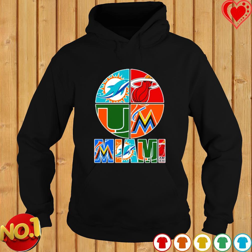 Miami top sport team s hoodie