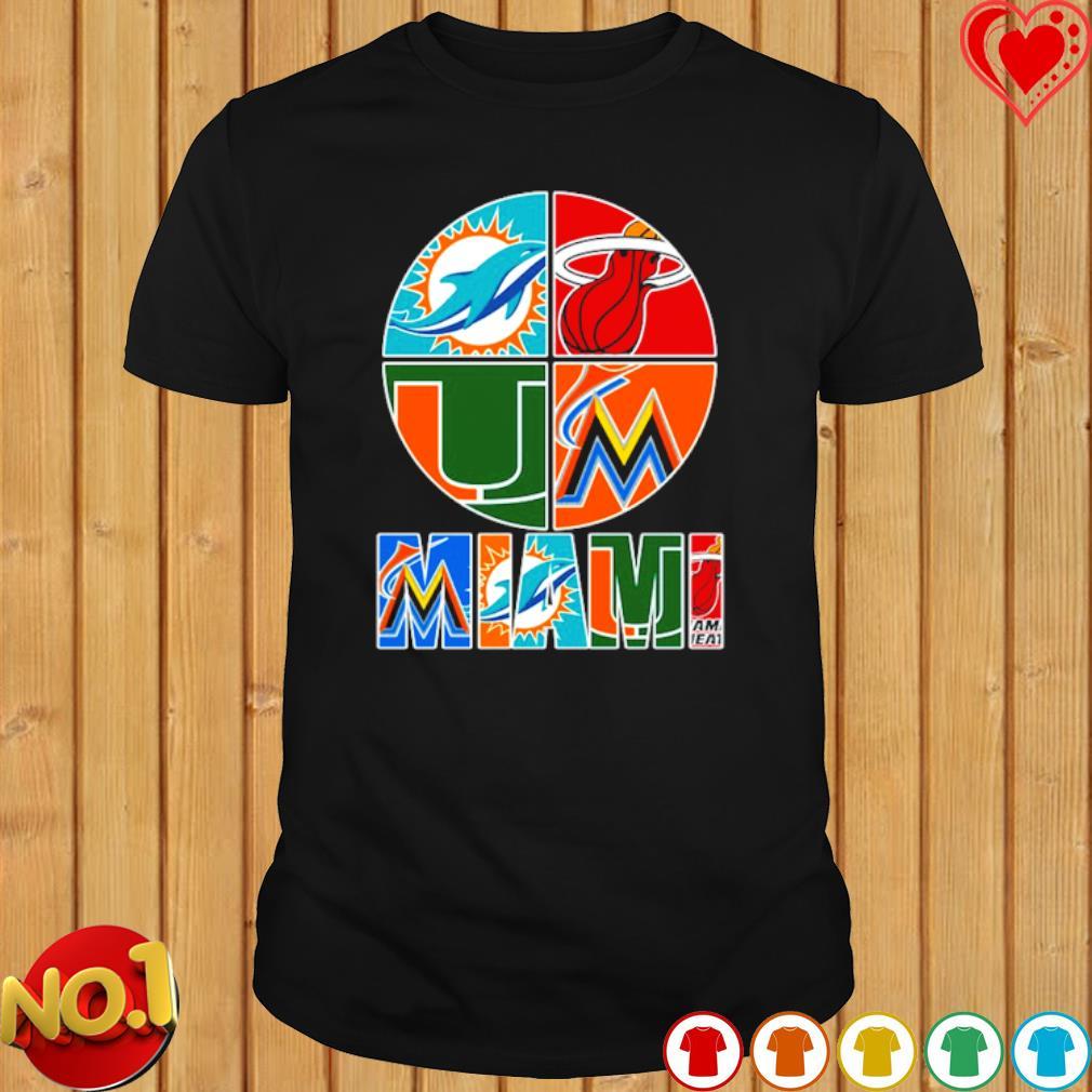 Miami top sport team shirt