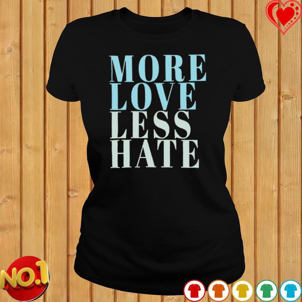 More love less hate s ladies-tee