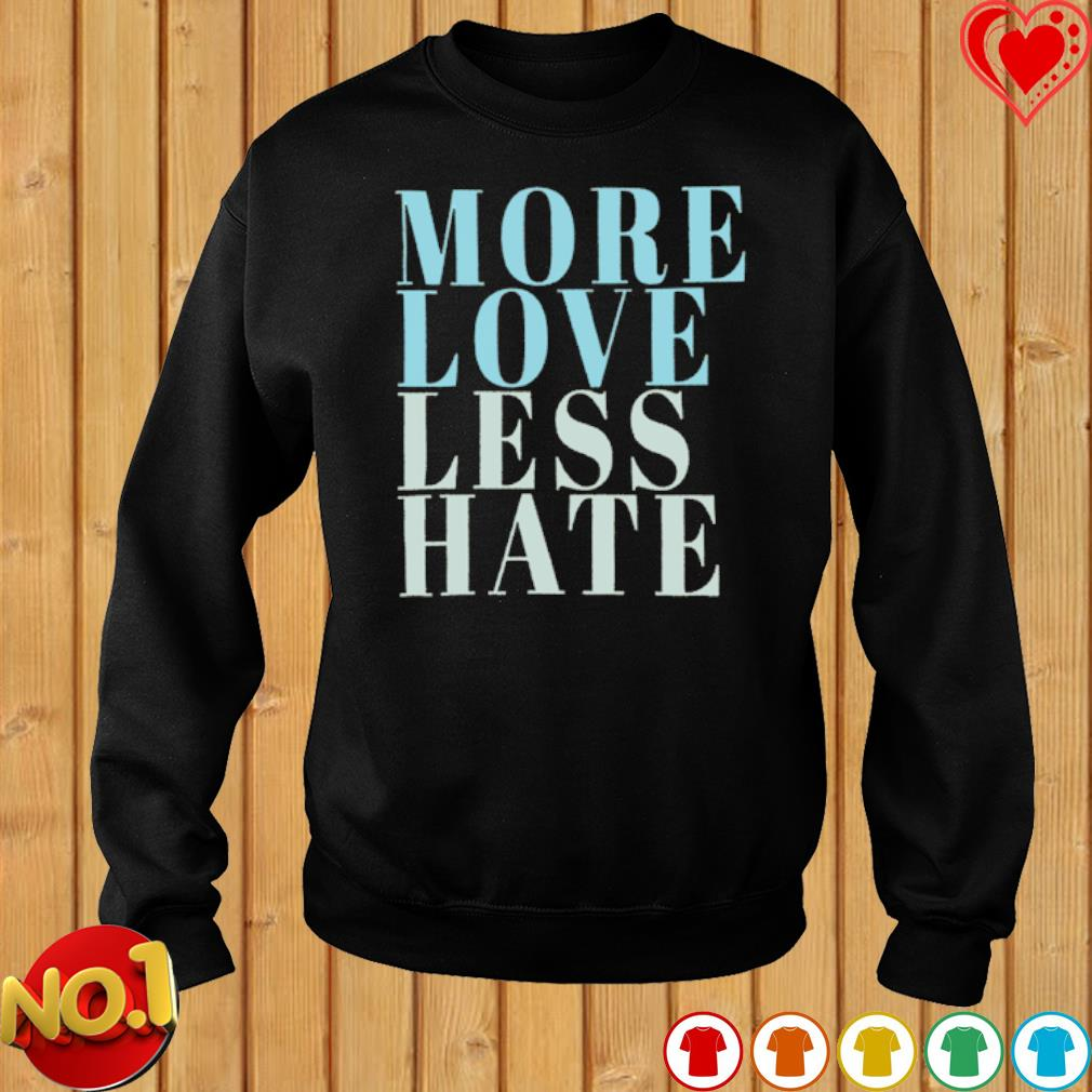 More love less hate s sweater