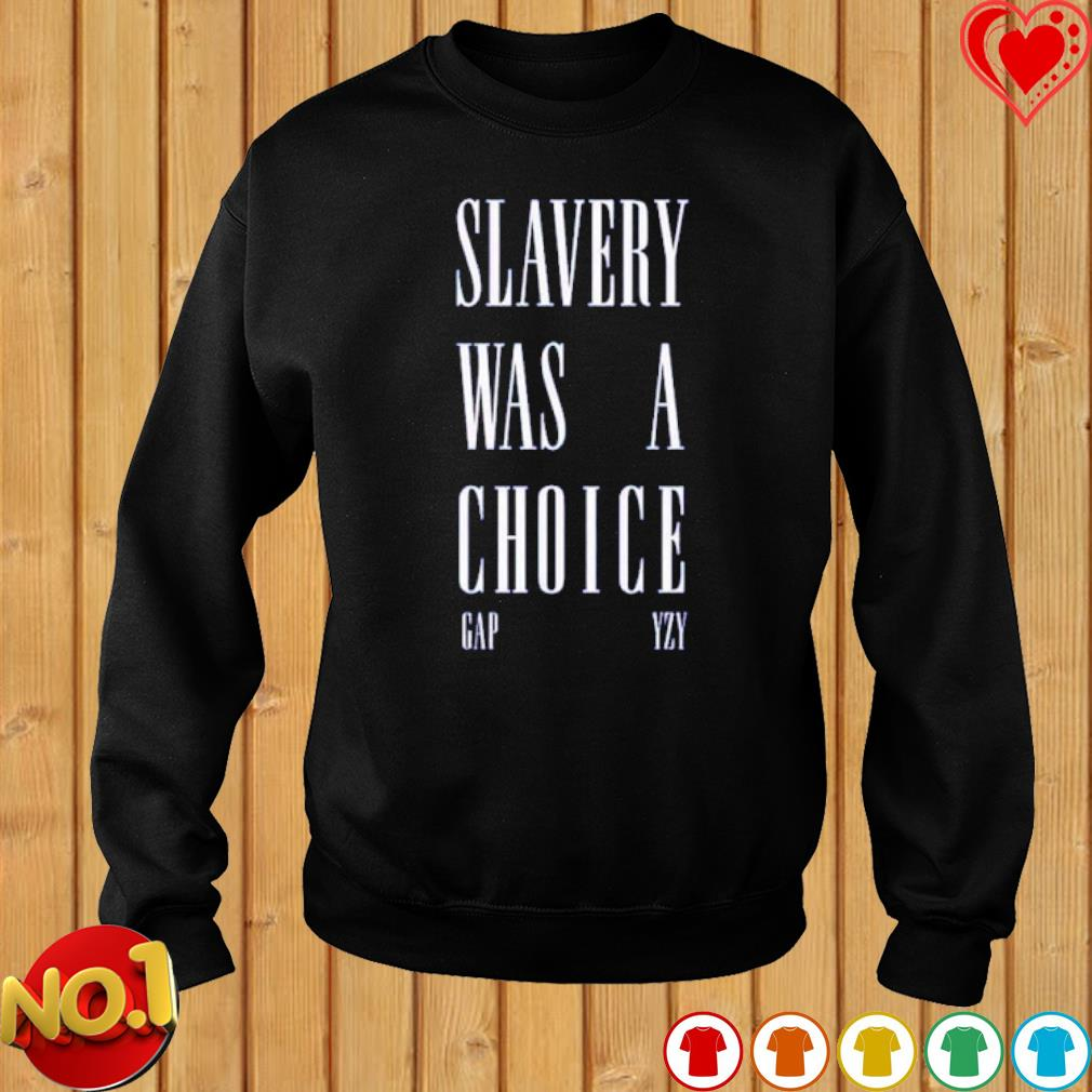 Slavery was a choice s sweater