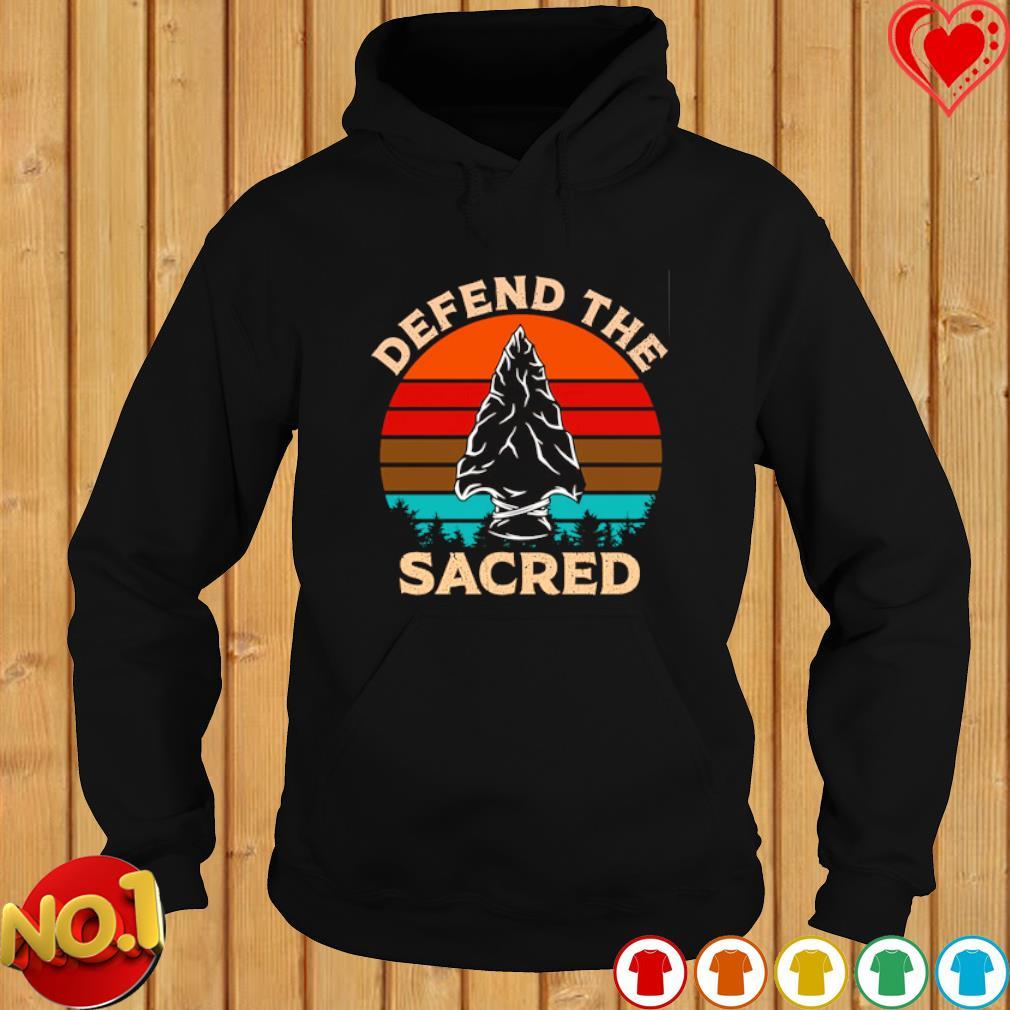 Spear Defend The Sacred vintage s hoodie
