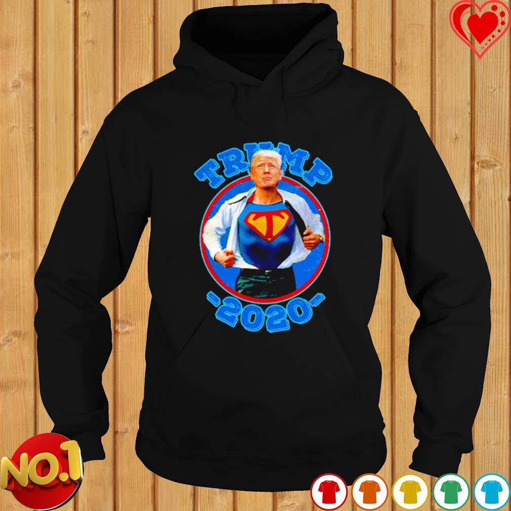 Super Trump Re-Elect 2020 Election Superhero s hoodie