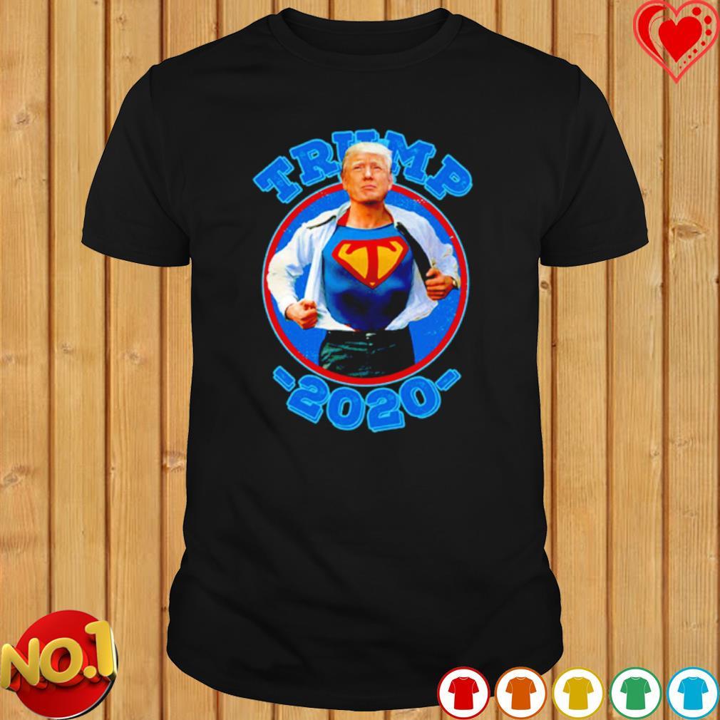 Super Trump Re-Elect 2020 Election Superhero shirt