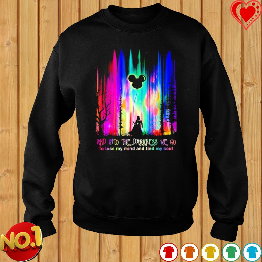 Darth Vader and into the darkness we go to lose my mind and find my soul s sweater