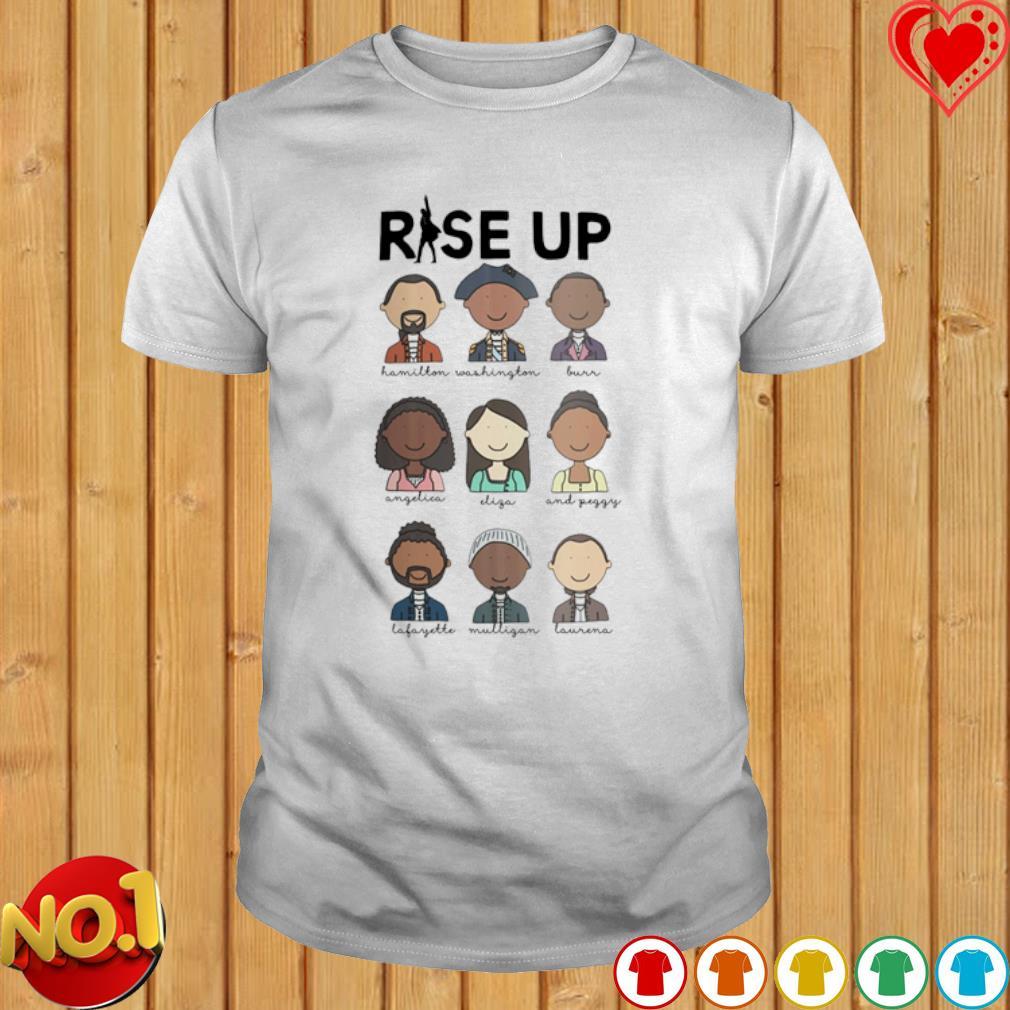 Rise up human shirt