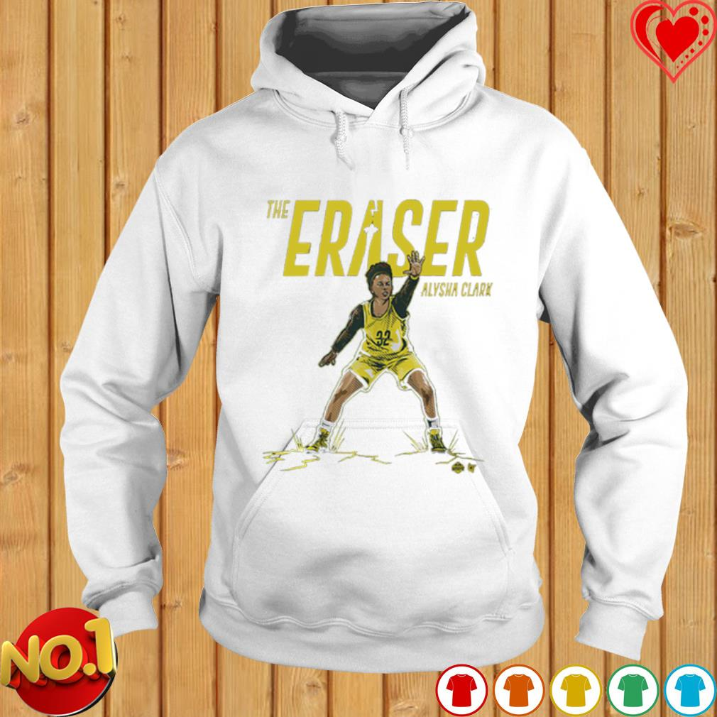 Seattle Supersonics the eraser Alysha Clark s hoodie