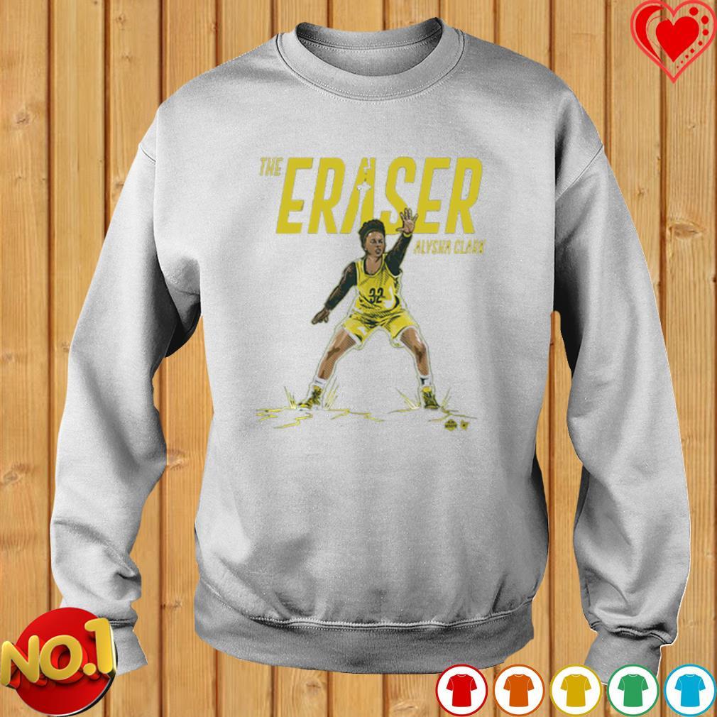 Seattle Supersonics the eraser Alysha Clark s sweater