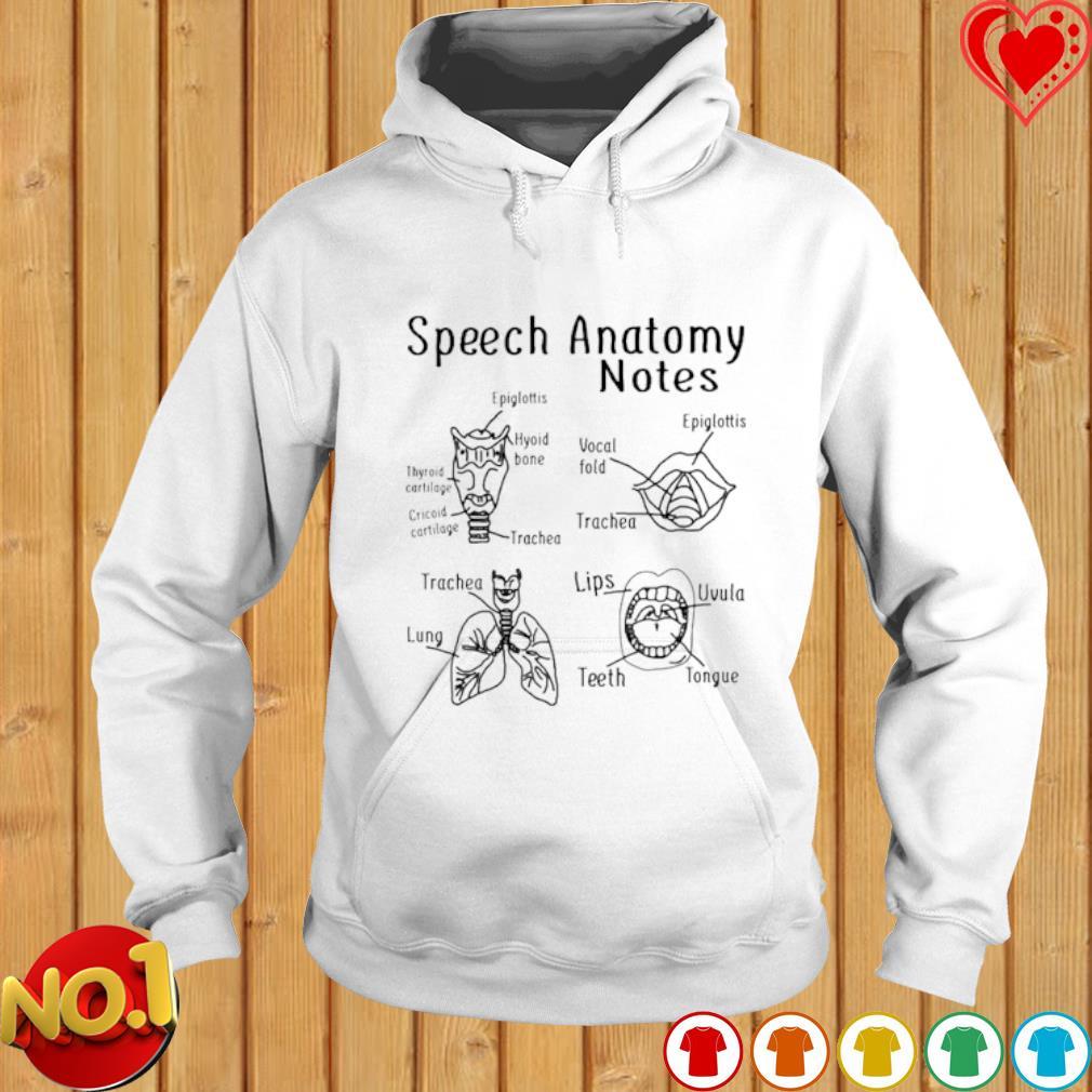 Speech Anatomy notes s hoodie