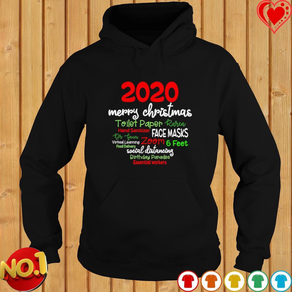 2020 merry Christmas toilet paper Karen hand sanitizer face masks s hoodie