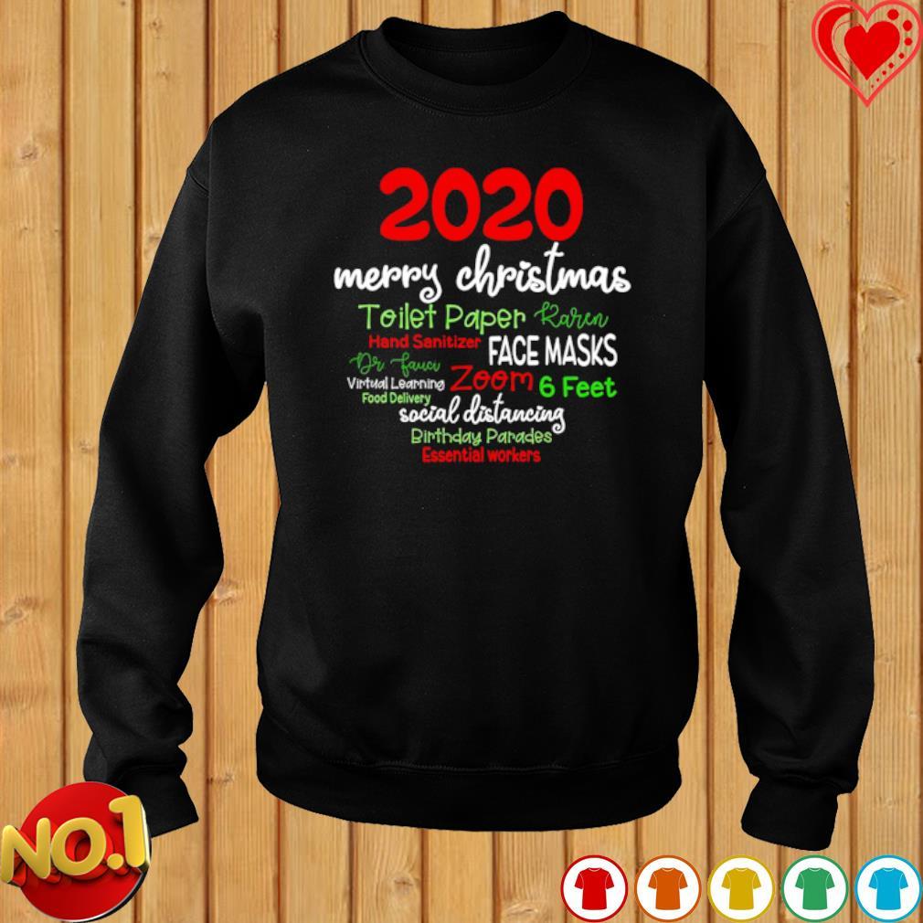 2020 merry Christmas toilet paper Karen hand sanitizer face masks s sweater